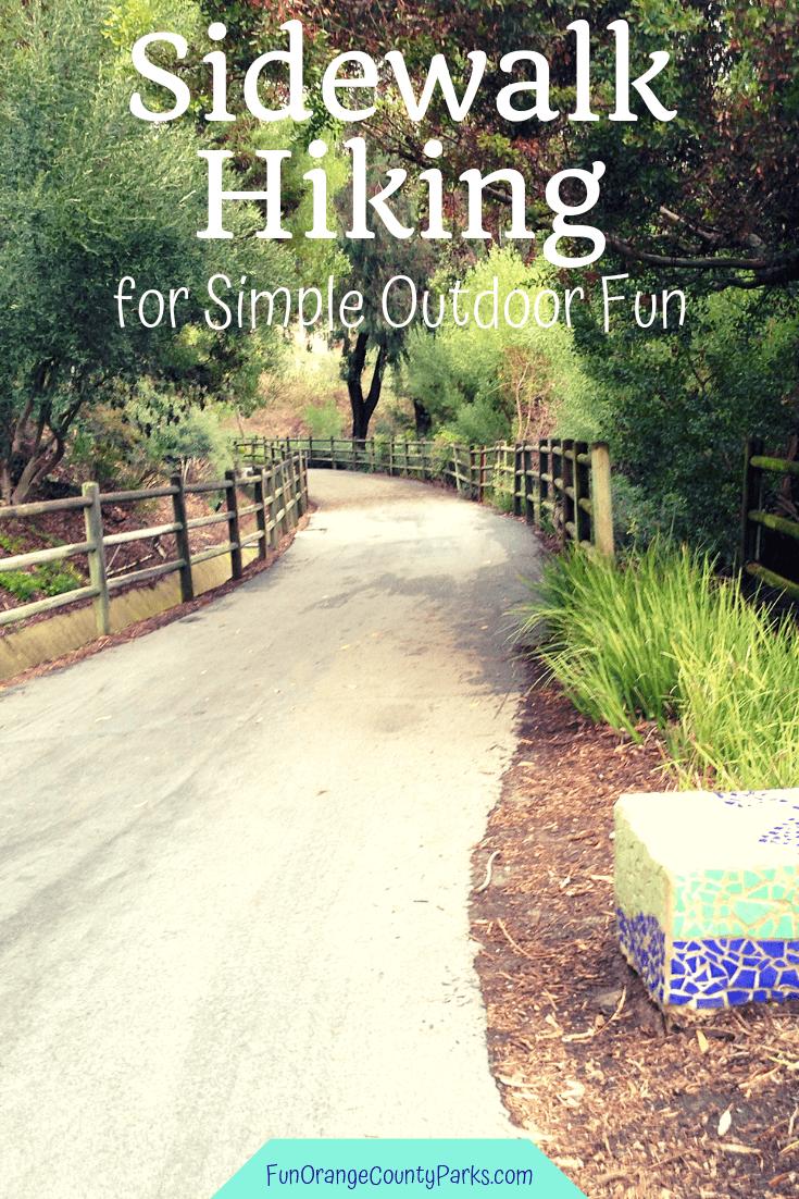 sidewalk hiking pin