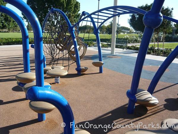 sweet shade park climbing rings