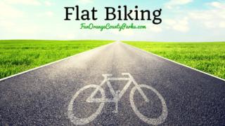 flat biking path