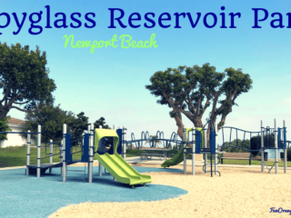 spyglass reservoir park newport beach - playground structure