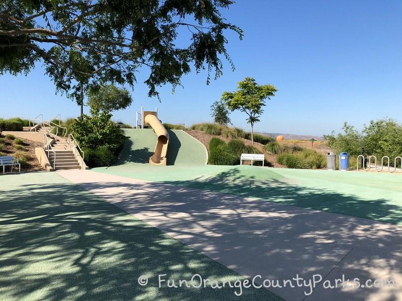 bosque playground great park slide