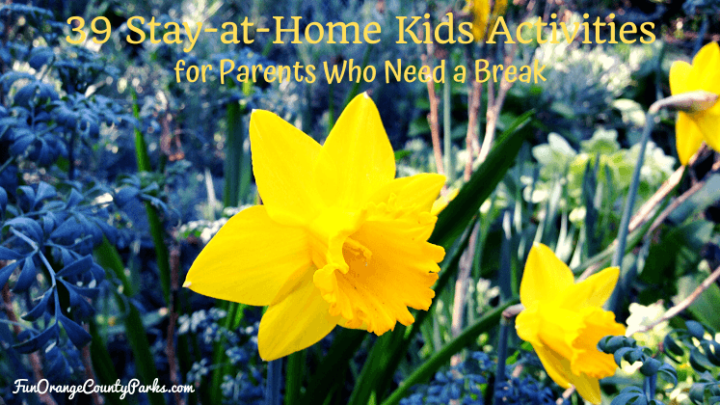 39 Stay-at-Home Kids Activities for Parents Who Need a Break