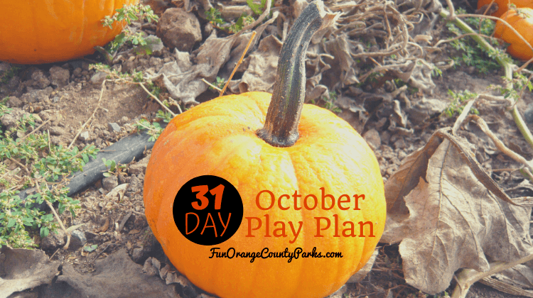 31 Day October Play Plan