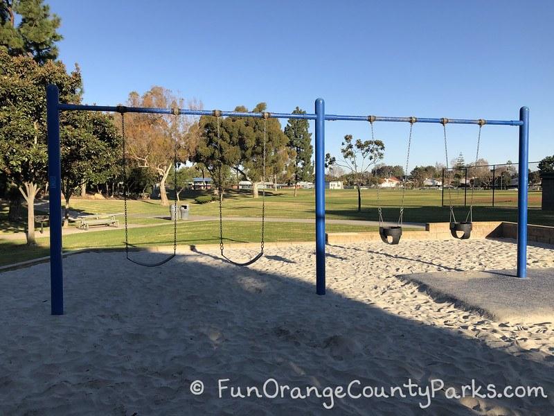 Eastbluff Park Newport Beach swings